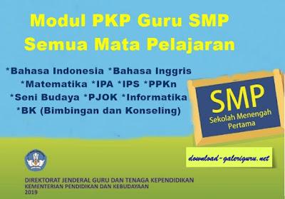 Contoh Materi PKP 1 Paket Lengkap Untuk Guru SMP _ Download Galeri Guru