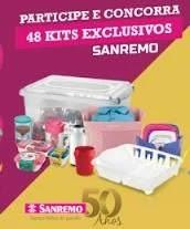 Nova Promoção Sanremo - 48 Kits Exclusivos e 2 Carros
