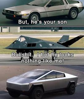 Tesla CyberTruck Meme by @mashhyyy on Instagram
