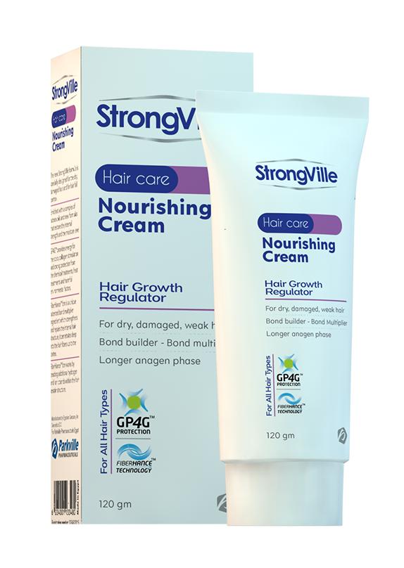 """""""فوائد وسعر كريم سترونج فيل الطبي لعلاج تقصف وهيشان الشعر""""StrongVille Nourishing Cream"""""""