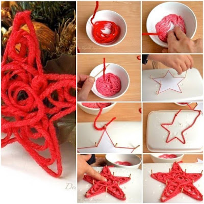 DIY home decoration ideas for Christmas