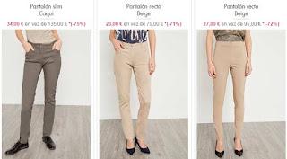 pantalones para mujeres