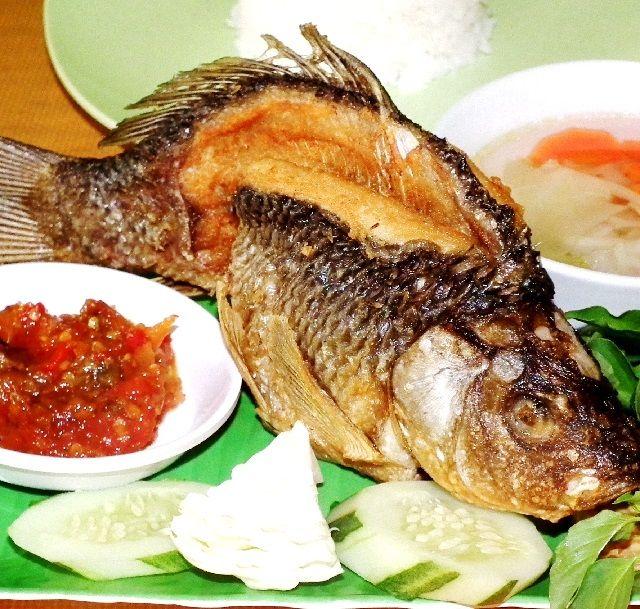 Resep Ikan Mas Goreng