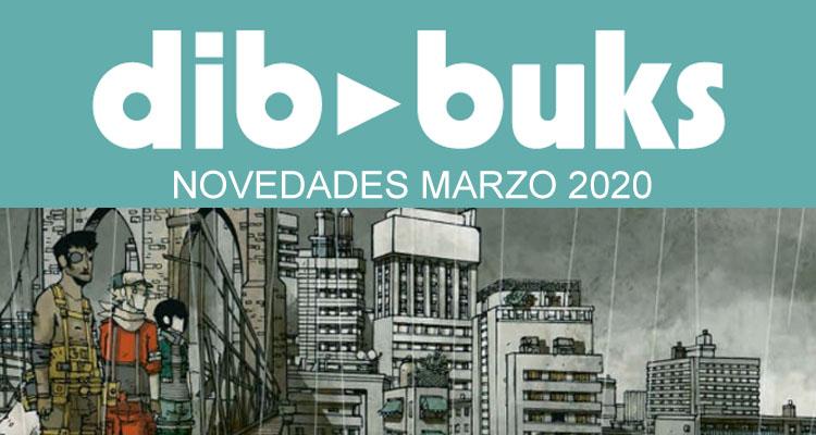 Dibbuks: Novedades Marzo de 2020
