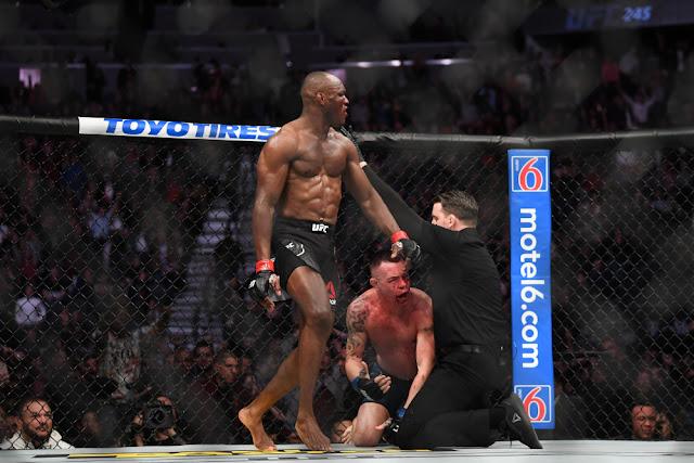 UFC 245 Kamaru Usman Colby Covington