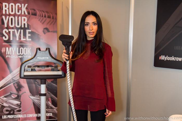 Blogger de moda belleza estilo española de Valencia en la MBFWM