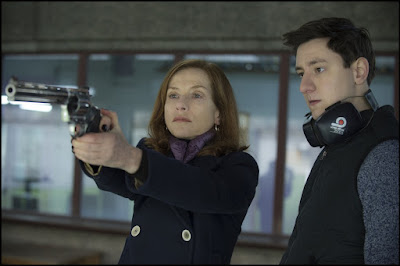 Isabelle Huppert and Arthur Mazet in Elle (3)