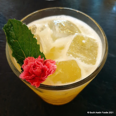 Aba: passion fruit gin and tonic