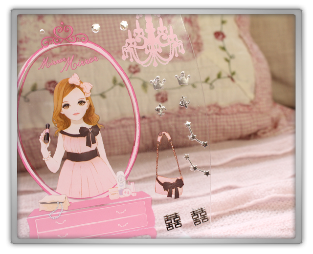 Etude House Haul Review accessories decor kawaii cute pink ebay beauty korean cosmetics doll earring holder
