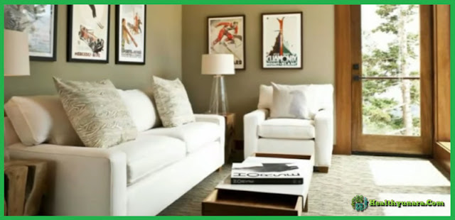 6 Paint Colors Combinations Suitable For Living Room