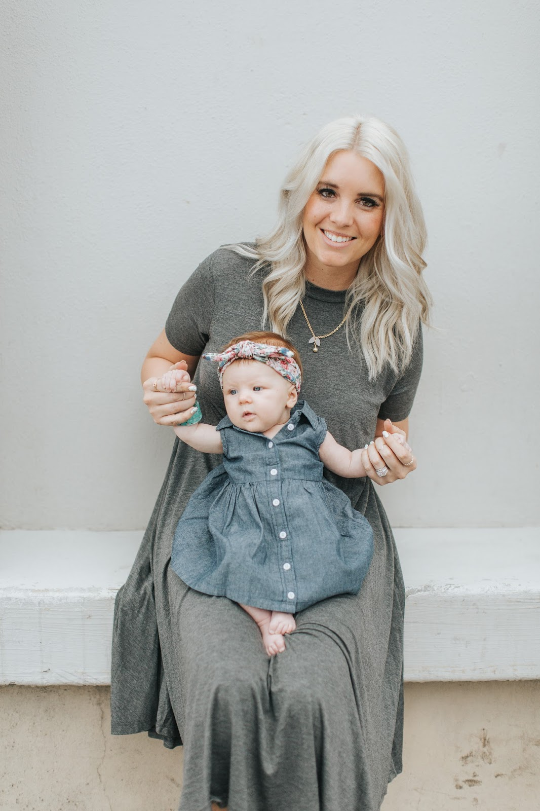 Platinum Hair, Baby Style, Mommy and Me Style
