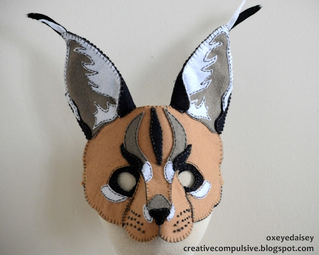 caracal mask