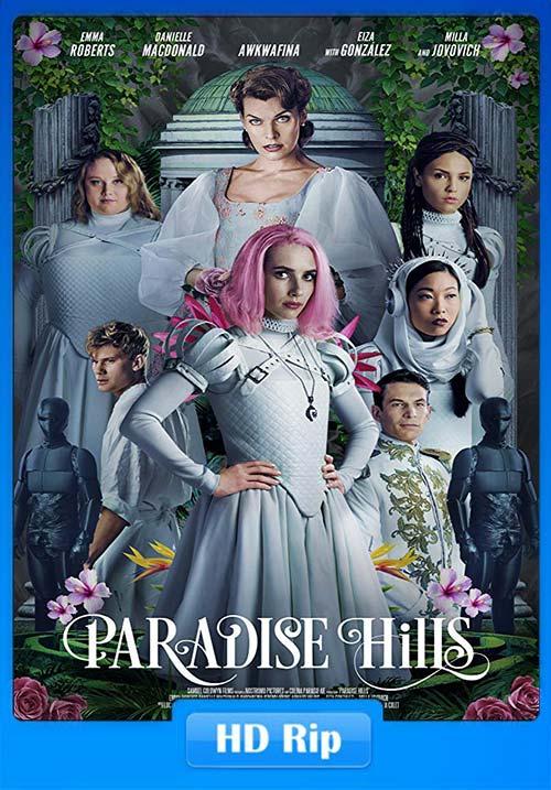 Paradise Hills 2019 720p WEBRip x264 | 480p 300MB | 100MB HEVC Poster