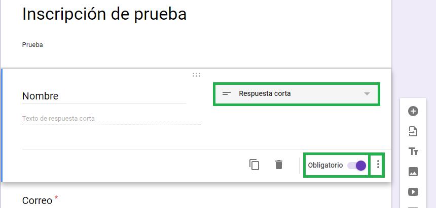 Formulario para recopilación de datos de google - Charkleons.com