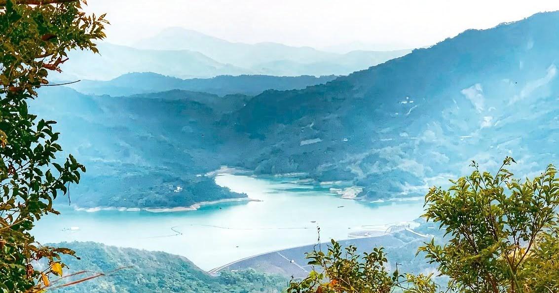 宛如仙境的美景|鈺鼎步道遠眺南化水庫|適合全家大小一起出遊