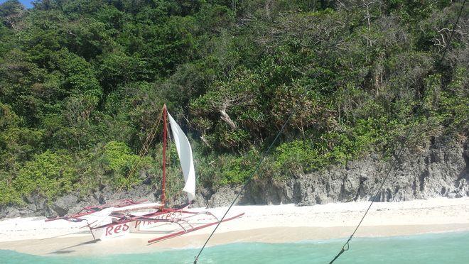 Puka Beach in Boracay