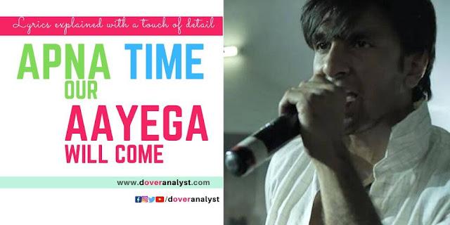 GullybOY-Apna-Time-Aayega-Lyrics-Explained-English