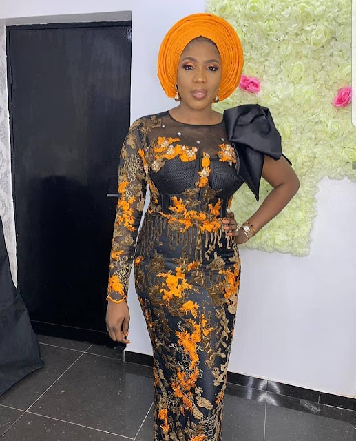 2019 Stylish Asoebi Long Gown Styles