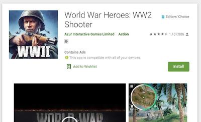 أبطال الحرب العالمية عن العبة
