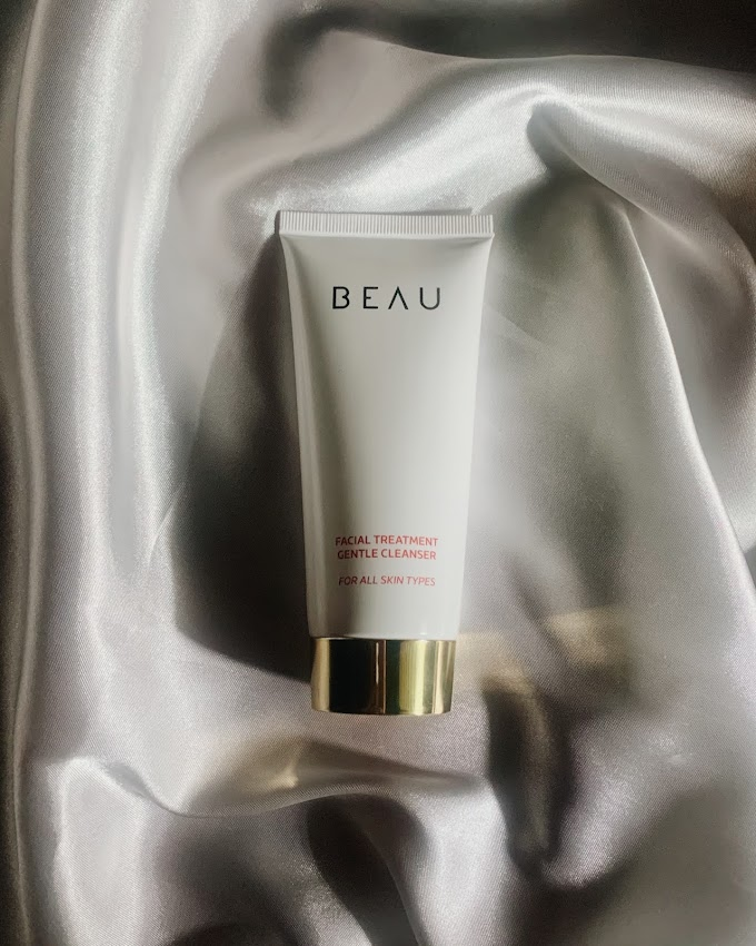 Review: BEAU Facial Treatment Gentle Cleanser Untuk Kulit Sensitif