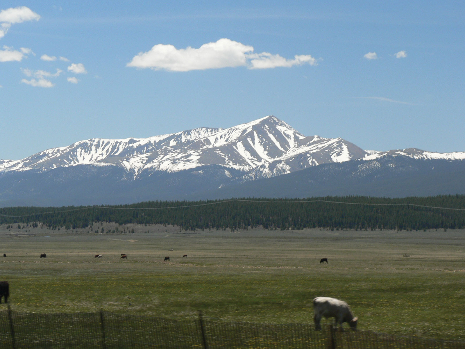 Гора Элберт, штат Колорадо