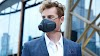 N95 face mask alternative THE ATMOBLUE  is the world's first wearable air purifier that blocks 99.97% of air particles