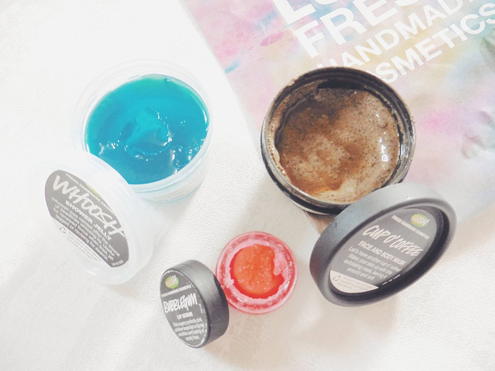 lebellelavie - Lush Products I'm currently using