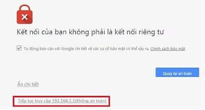 Truy cập vào trang đăng nhập của modem H646EW