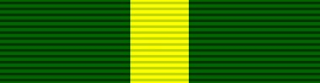 Ribbon for Territorial Decoration and its post-1930 successor the Efficiency Decoration