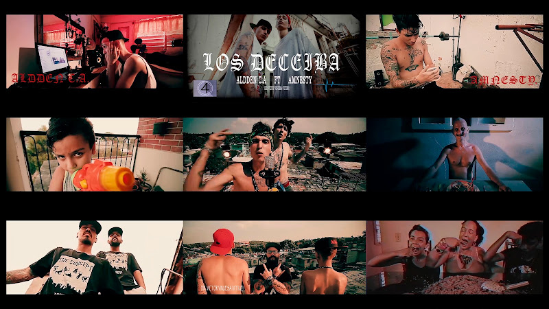 Aldden c.A & Amnesty - ¨Los Deceiba¨ - Videoclip - Director: Víctor Vinuesa (Vitiko). Portal Del Vídeo Clip Cubano. Música cubana. Hip Hop. Rap. Cuba.
