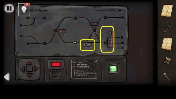 пульт для управления рельсами в игре выход из заброшенной шахты