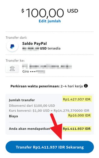 Cara Transfer dari Paypal ke OVO Terbaru