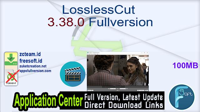 LosslessCut 3.38.0 Fullversion