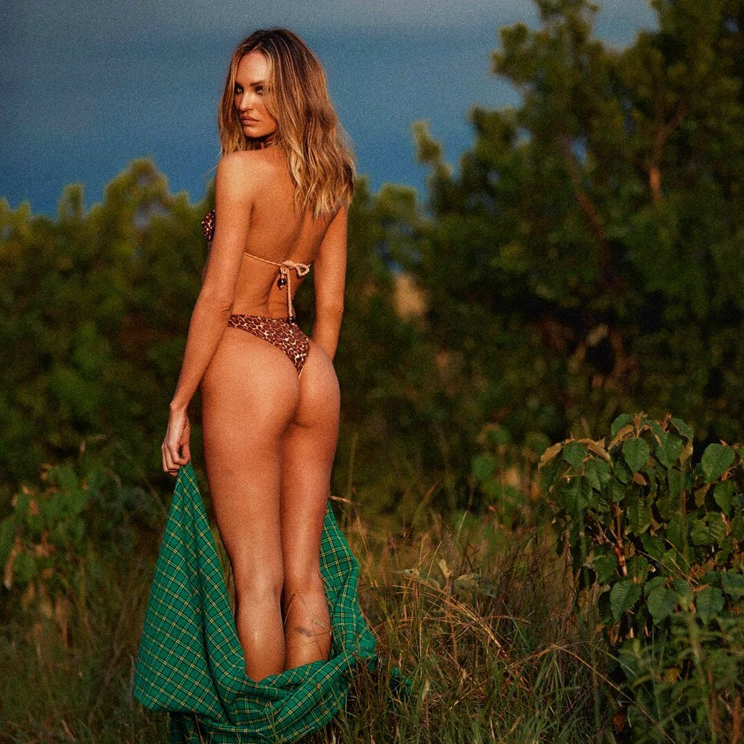 Candice Swanepoel highlights pert bottom in Tropic of C bikini