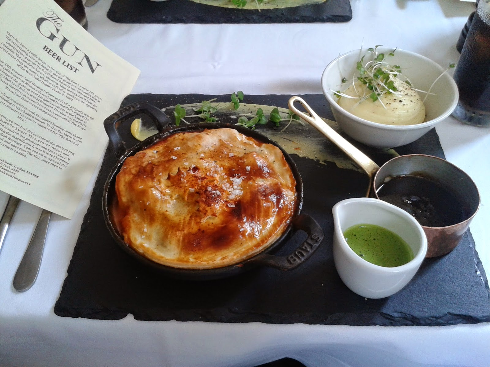 The Gun Docklands Goat Pie Review