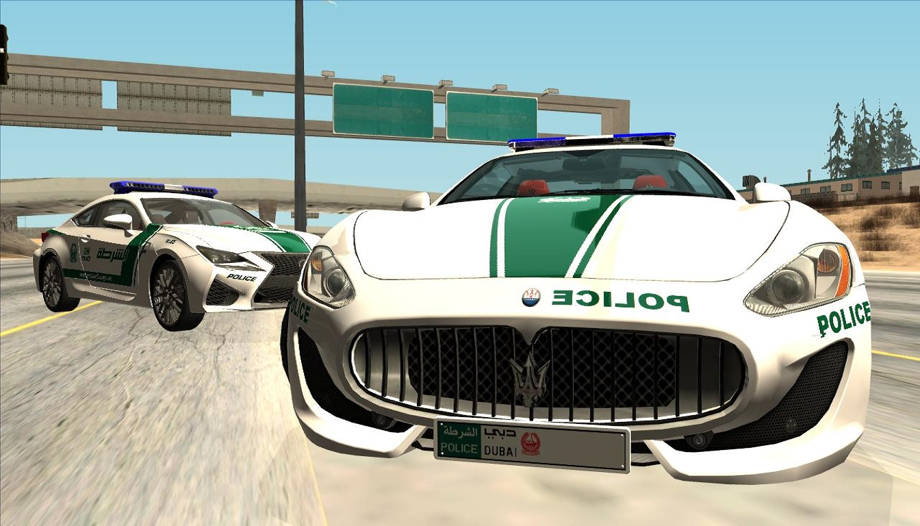 POPO-SPOT: 【REL】2013 Maserati GranTurismo Dubai Police