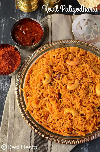 How to make kovil puliyodharai ?