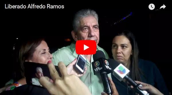 Así fue como el régimen liberó a Alfredo Ramos