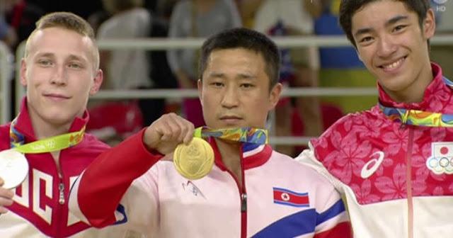 Medallista olímpico de oro revela porqué se veía triste