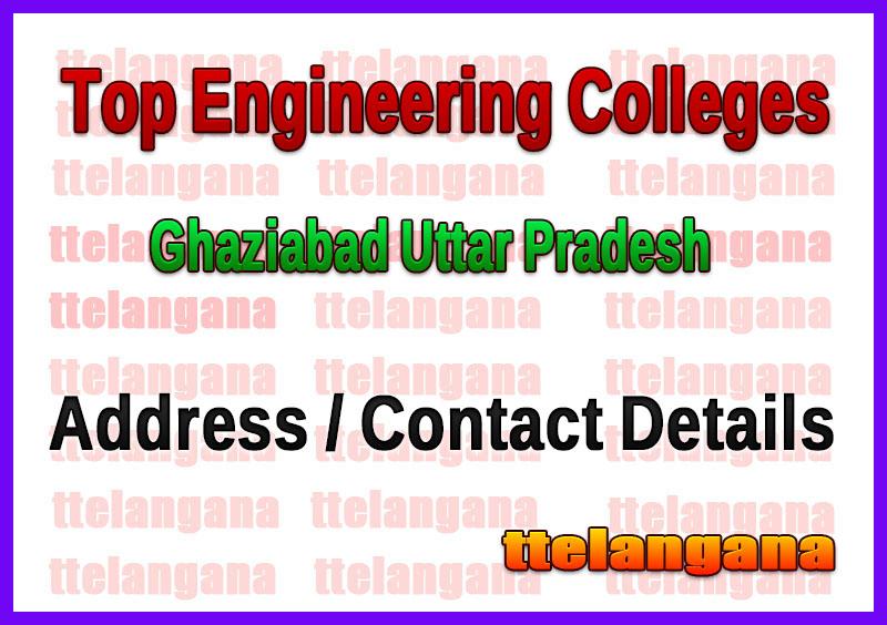 Top Engineering Colleges in Ghaziabad Uttar Pradesh