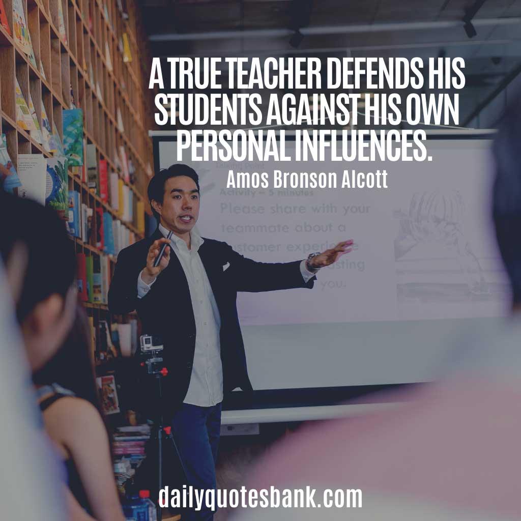 Words Of Wisdom For Teachers