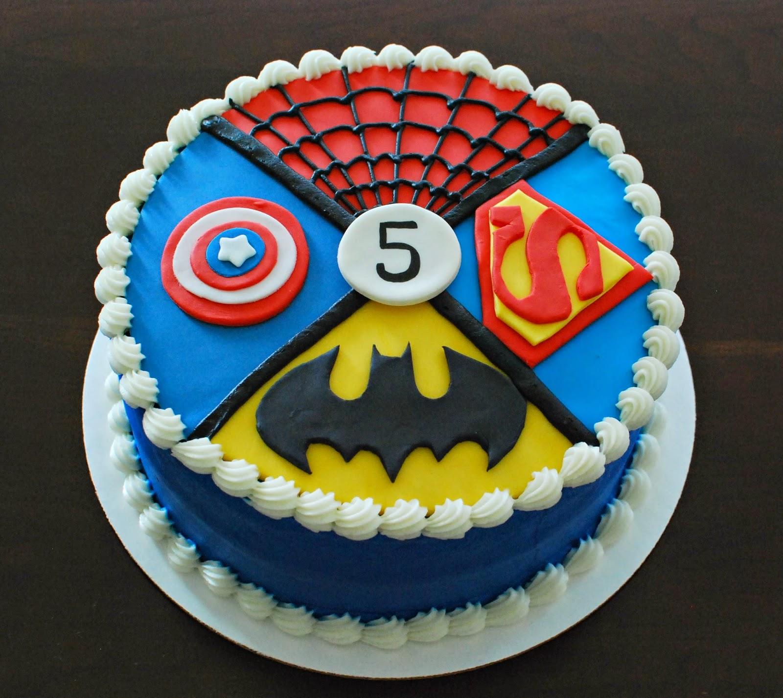 Cake Flair: Superhero Cake  |Superhero Cakes