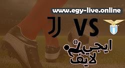 مشاهدة مباراة يوفنتوس ولاتسيو بث مباشر رابط ايجي لايف 08-11-2020 في الدوري الايطالي