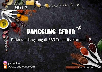Perhelatan Hotel Mentari FBG Transcity