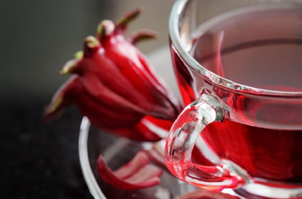 Method of action of hot hibiscus syrup