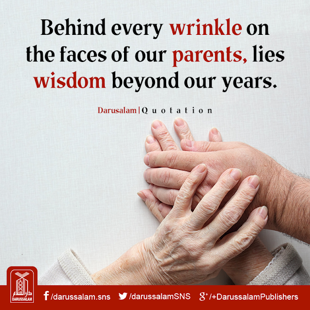 Behind every wrinkle on the faces of our parents, lies wisdom beyond our years. Parents Status Quotes Images Download for WhatsApp