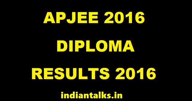 APJEE-2016-Results