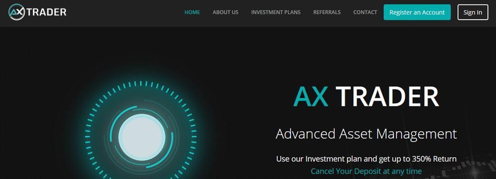Мошеннический сайт axtrader.com – Отзывы, развод. Компания AX TRADER мошенники