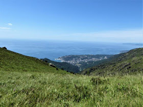 panorama di arenzano dal sentiero liguria