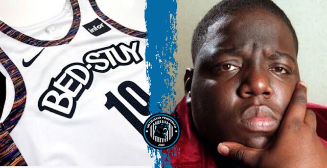 """Brooklyn Nets homenageia Biggie e seu bairro """"Bed-Stuy"""" em novos uniformes City Edition"""